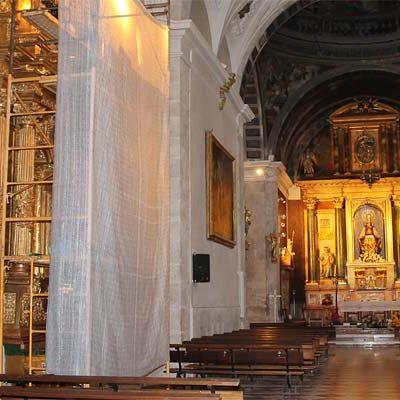 El Santuario de El Henar acomete la restauración del retablo de San Damián y San Cosme