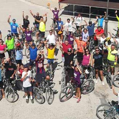 Conociendo el entorno de Adrados en bicicleta
