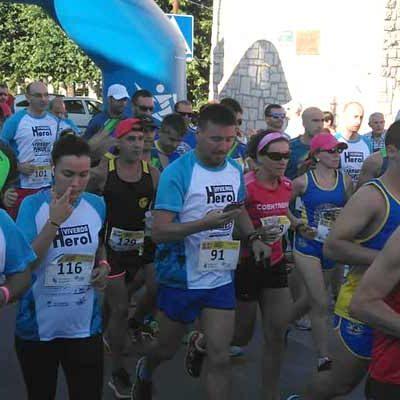 Javier Fernández y Gema Martín, ganadores de la VI Carrera Pedestre `Tierra de Pinares´