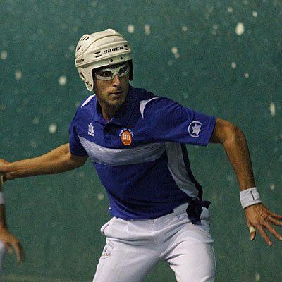 La Selección Española convoca al pelotari valleladense Carlos Baeza para disputar el Mundial