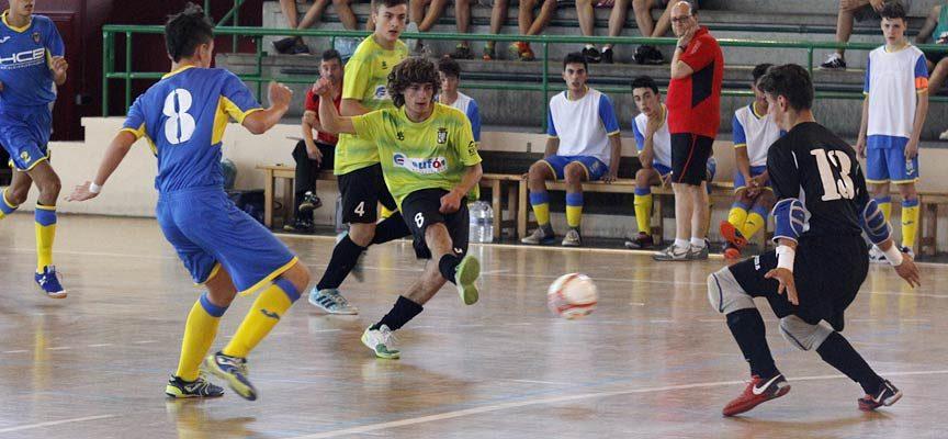 El FS Cuéllar juvenil juega en casa frente al Salamanca su último partido del año