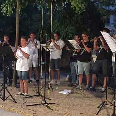 La Escuela de Dulzaina Collara y el Grupo Campo Áspero se unen para participar en el XIII Festival de la Gaita de Villaviciosa