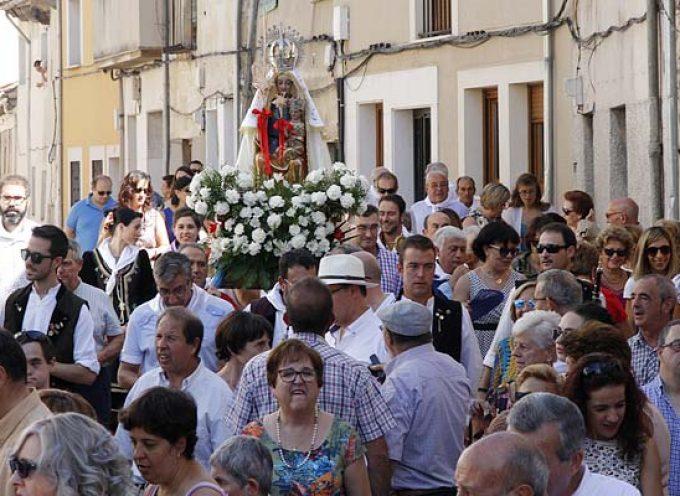 El barrio de El Salvador se prepara para celebrar sus fiestas en honor a la Virgen de la Palma