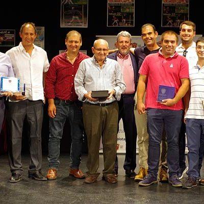 La Pelota de Castilla y León premia a Vallelado