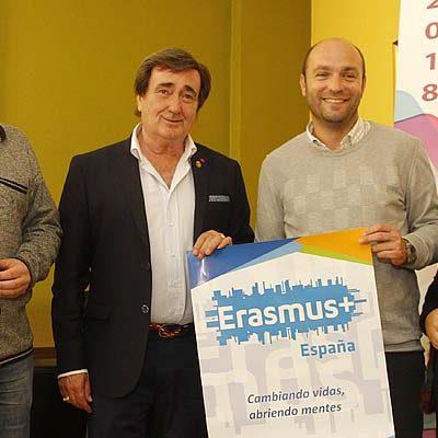 El `Deporte escolar como herramienta de inclusión social´ centra el proyecto Erasmus+ del colegio Santa Clara de Cuéllar