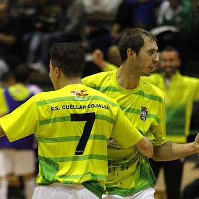 El FS Cuéllar consigue la permanencia en Segunda B ganando al Calatayud