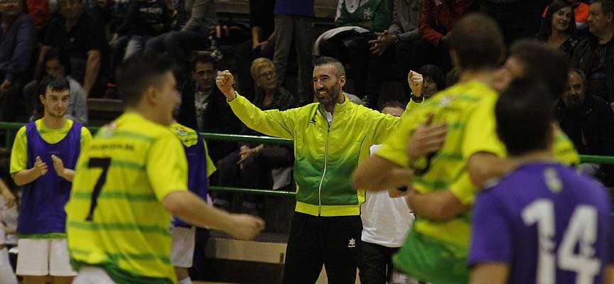 El FS Cuéllar suma tres victorias consecutivas tras vencer al Futsal Ibi