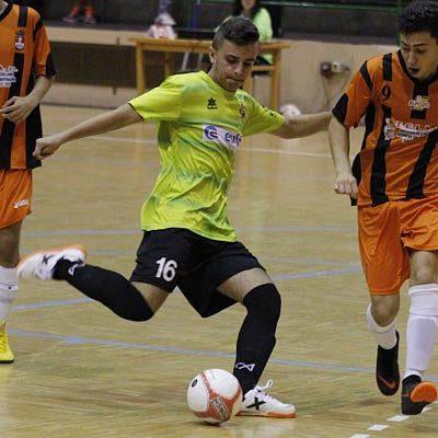 El FS Cuéllar juvenil logró el empate en el último minuto ante el River Zamora