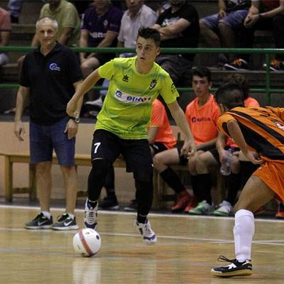 Primer derbi provincial de la temporada para el FS Cuéllar juvenil