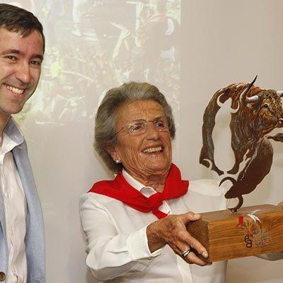 """Lagunajanda ya es """"parte de la historia del encierro de Cuéllar"""" para María Domecq"""