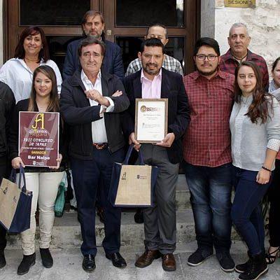 La `Croqueta de pollo campero´ del restaurante Carchena gana el XIX Concurso de Tapas de San Miguel