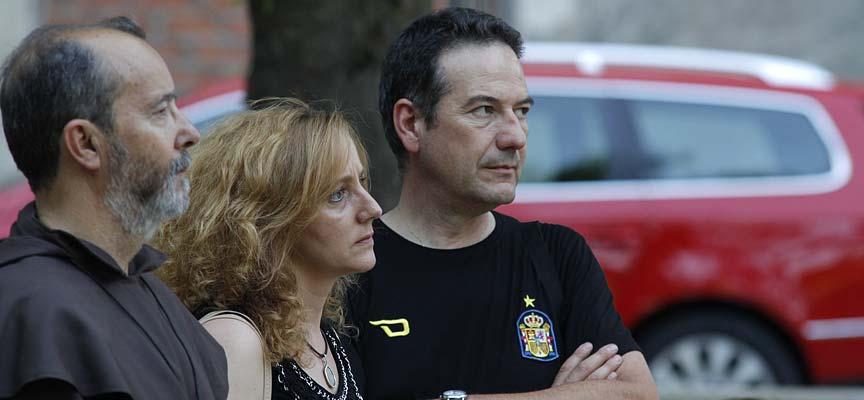 Alcalde-de-aguilafuente-Jesús-Ballesteros-junto-a-concejal-Raquel-Alonso-escuellar