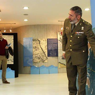 Una exposición recuerda en la sala Alfonsa de la Torre `El viaje a la especiería de Magallanes y Elcano´