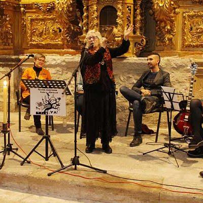 Poesía y cantares sefardíes tomaron la capilla de La Magdalena