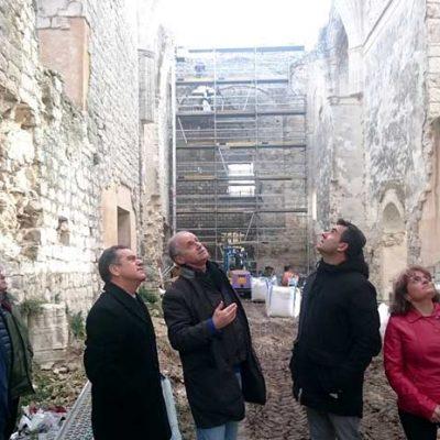 La Junta consolida la cabecera de la iglesia del Monasterio de la Armedilla