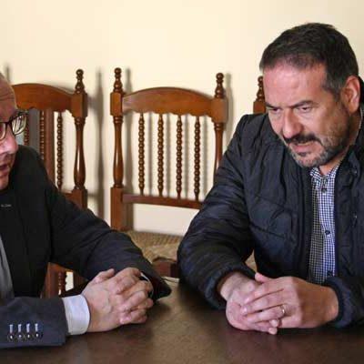 Junta y Ayuntamiento de Aguilafuente abordan la continuidad de las actuaciones en la villa de Santa Lucía