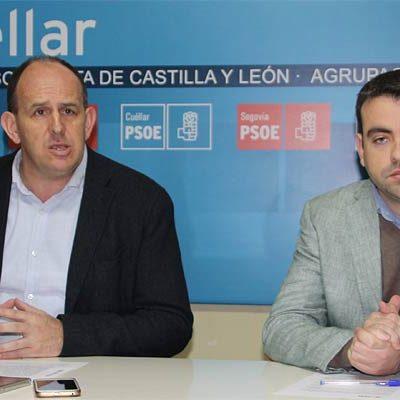 """El PSOE exige al PP """"que deje de jugar con el futuro centro de salud de Cuéllar"""""""