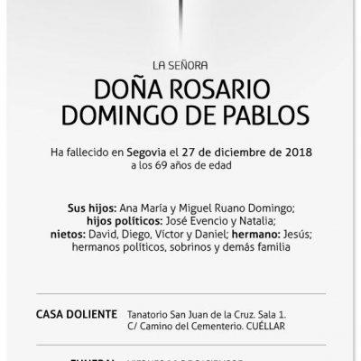 Rosario Domingo de Pablos