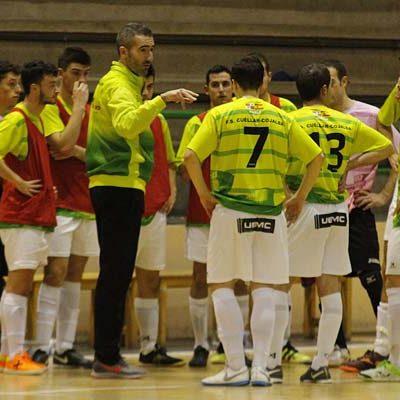 FS Cuéllar vuelve a jugar en casa después de un mes, esta tarde ante el Laskorain