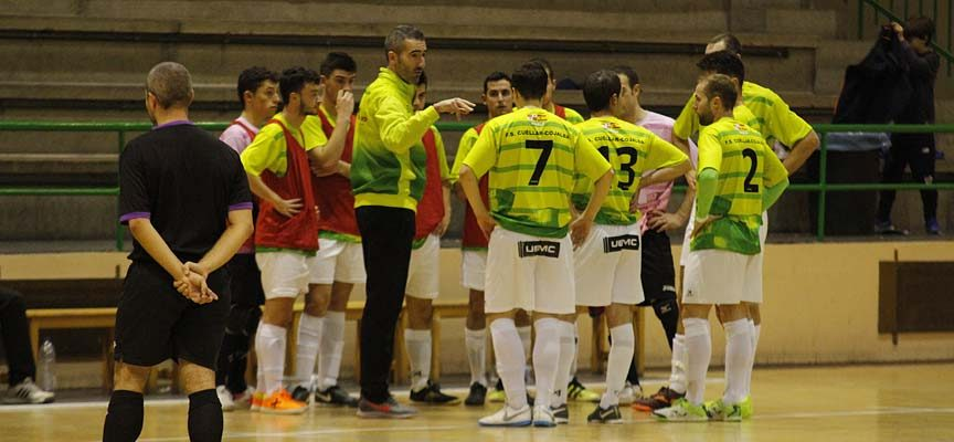El FS Cuéllar recibe hoy al equipo más goleador de su grupo, el Ibi