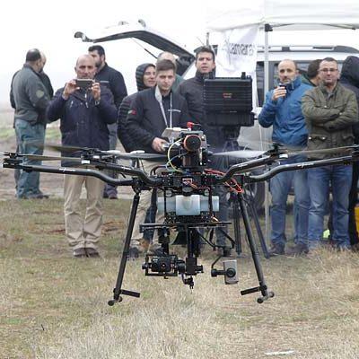 Cruz Roja inicia el lunes en Cuéllar un curso de iniciación al pilotaje de drones