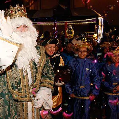 El Cartero Real precede hoy a la cabalgata de los Reyes Magos