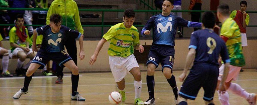 El FS Cuéllar recaudó 1.432 euros para la AECC en su partido frente al Inter Movistar `B´