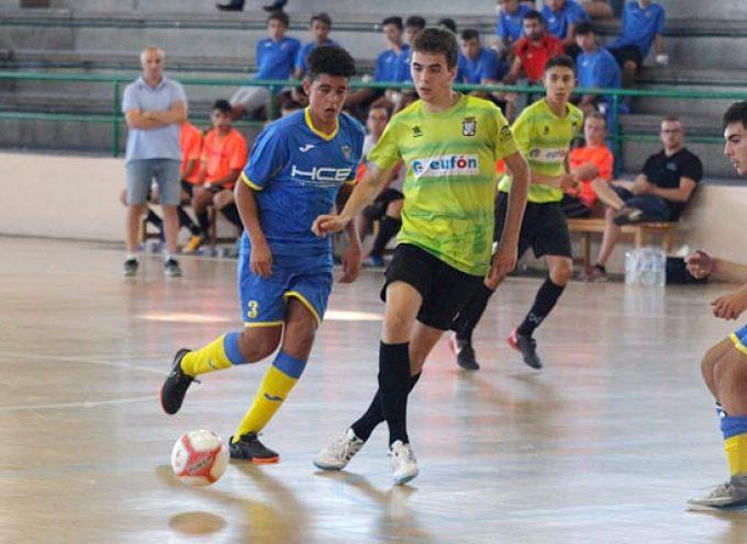 El FS Cuéllar juvenil inicia la temporada con un derbi en casa frente a Valverde