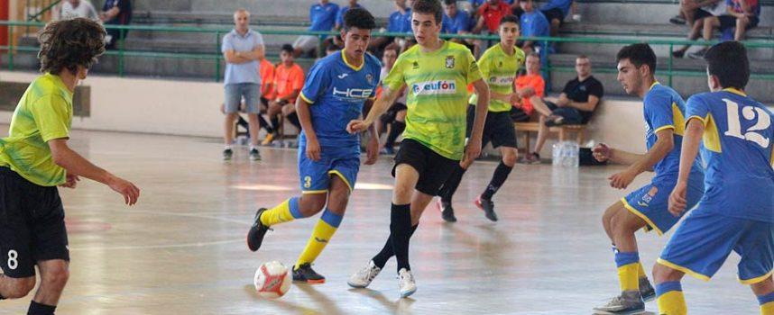 El FS Cuéllar juvenil recibe el sábado por la mañana al líder, el Segovia Futsal