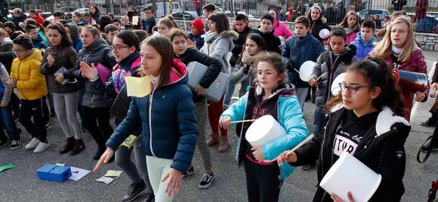 Un concierto y la Semana Internacional cierran el segundo trimestre en el CEIP Santa Clara