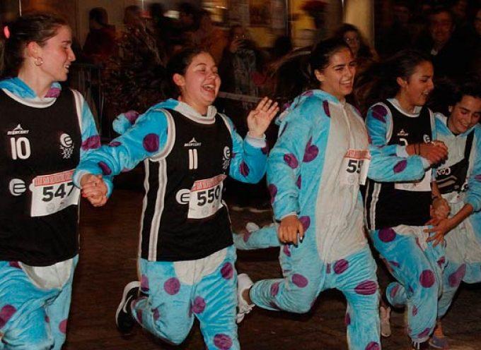 Una Nochevieja sin San Silvestre en Cuéllar, pero sin dejar de correr