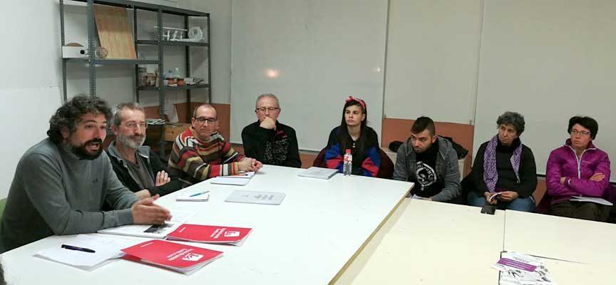 Sarrión participa en un encuentro para la elaboración de candidaturas unitarias en el partido judicial de Cuéllar