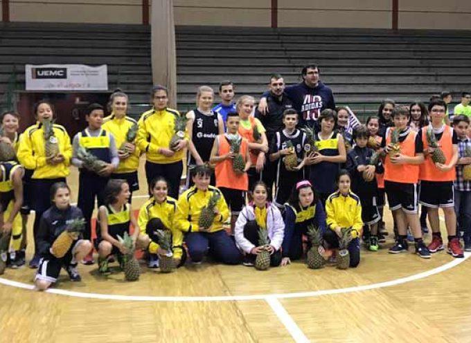 Equipos de Cuéllar, Peñafiel e Íscar disputaron el `Torneo de la Piña´