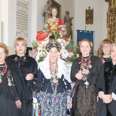 Aguilafuente celebra Santa Águeda