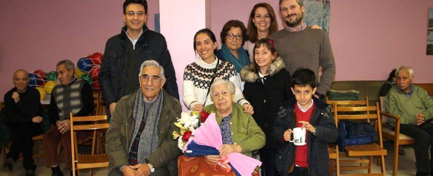 Margarita Medina celebró su 100 cumpleaños en la residencia El Alamillo