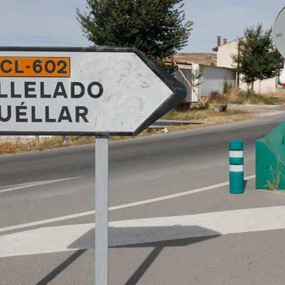 Fomento invertirá 1,6 millones en la renovación del firme de la CL-602 desde el límite de Valladolid hasta Cuéllar