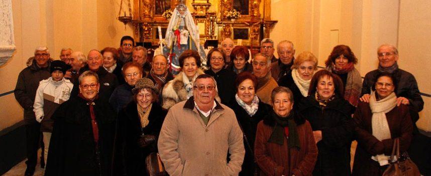 Danzas y velas en la celebración de Las Candelas en Cuéllar