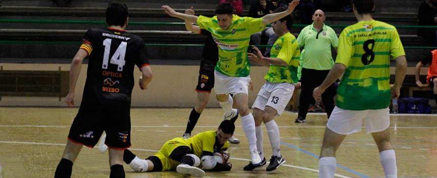 El FS Cuéllar cae derrotado en casa ante un Futsal Ibi más ambicioso