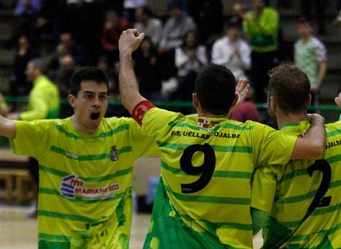 FS Cuéllar remonta dos goles para empatar en casa ante el AD Sala 2012