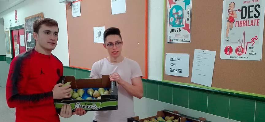 fruta-alimentación-saludable-IES-Marqués-de-Lozoya-Cuéllar