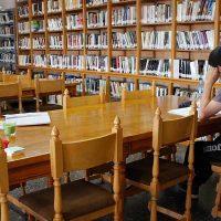 El Ayuntamiento invertirá más de 5.000 euros en bajar los techos de la biblioteca Cronista Herrera