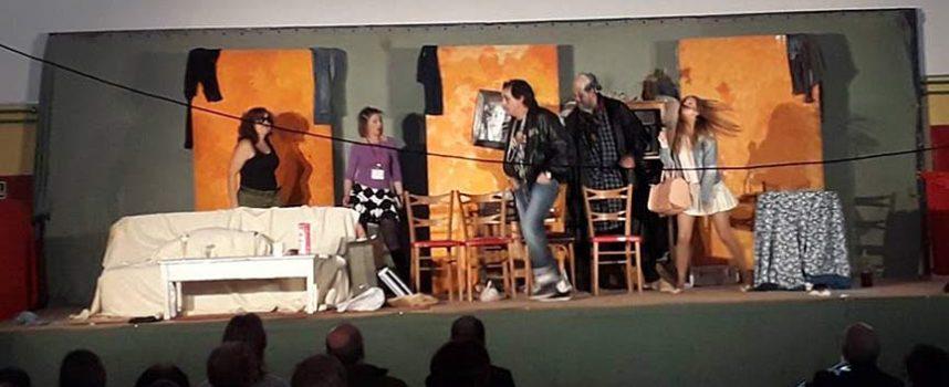 Tarde de teatro en Fuenterrebollo con Las Magas