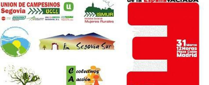 UCCL e Ismur Segovia se suman a la Revuelta de la España Vaciada