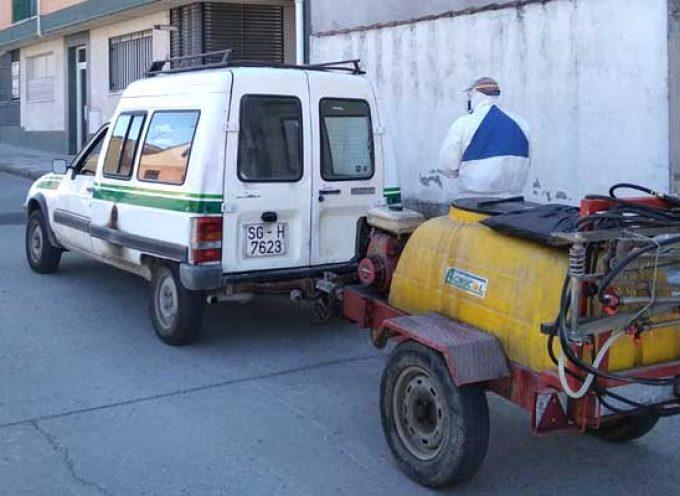 IU denuncia el uso desproporcionado de glifosato en las calles de Cuéllar