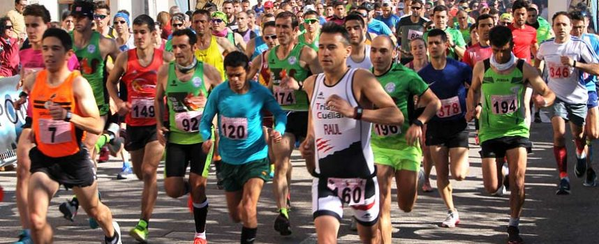 Francisco Alonso y Diana del Ser se imponen en la VIII Carrera Murallas de Cuéllar batiendo récord de tiempo