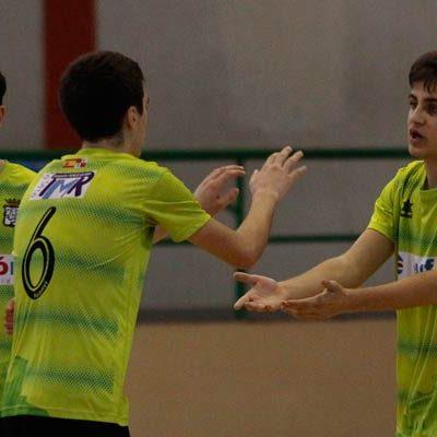 El FS Cuéllar juvenil juega uno de sus mejores partidos de la temporada y gana 6-3 al Tierno Galván