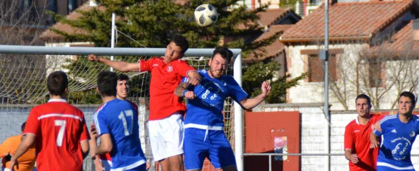 El CD Cuéllar deja escapar dos puntos ante el Venta de Baños (2-2)