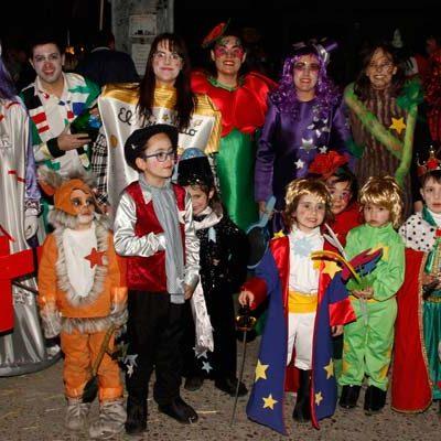 Colorido e ilusión en el carnaval infantil