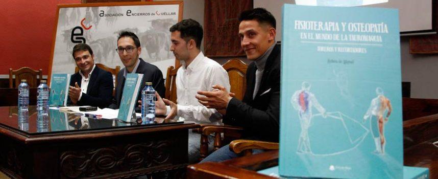 Rubén de Miguel presentará su libro `Fisioterapia y osteopatía en el mundo de la tauromaquia´ en Las Ventas