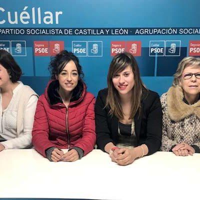 """El PSOE de Cuéllar apuesta """"por la defensa de los derechos, la libertad y la seguridad de las mujeres"""""""